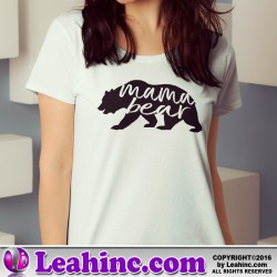 """Mama Bear"" Womens' T Shirt"