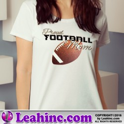 """Proud Soccer Mom"" Womens' T Shirt"