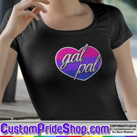 """""""Love is Love"""" LGBTQ Pride Candy Heart Valentine's Day T-Shirt"""