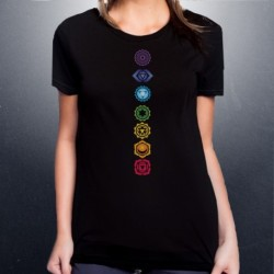 Chakra Shirt - Ladies, Mens, Crew Neck, Vneck or Tank