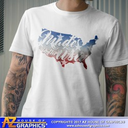 Land of the Free Vintage Look T-Shirt