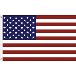 Grunge American Flag Tapestry