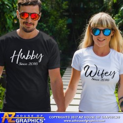 I'm His, He's Mine Pointing Hand Couples' T-Shirt