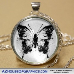 Butterfly Spatter Pendant