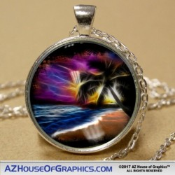 Electric Beach Pendant