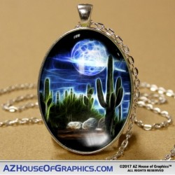 Electric Desert Pendant