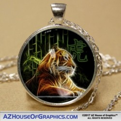 Electric Tiger Pendant