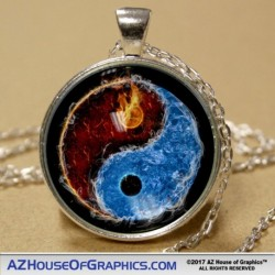 Fire Water Pendant