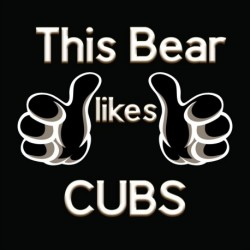 This Bear Likes Cubs sticker