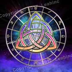 Zodiac Trinity - Tarot Throw Tapestry