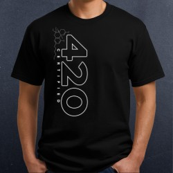 420 Certified 03 -Molecule Shirt