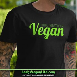 I Think Vegan Green Shirt