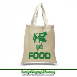 Vegan Canvas Tote Bag - 100% Cotton