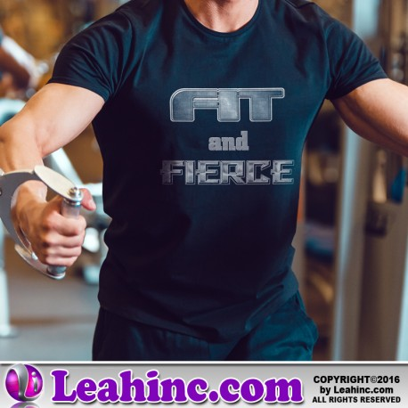 """""""Fit and Fierce"""" Fitness Shirt"""