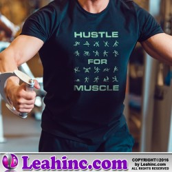 Hustle For Muscle Fitness Shirt