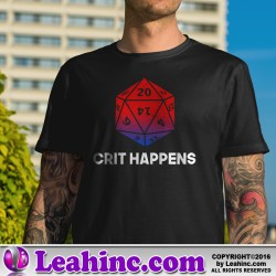 """Crit Happens"" Nerd Shirt"