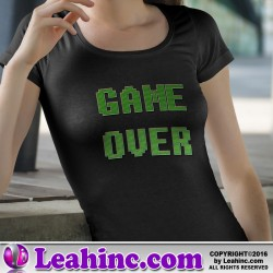 """Game Over"" Nerd Shirt"