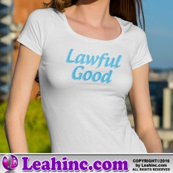 """Lawful Good"" Alignment Nerd Shirt"