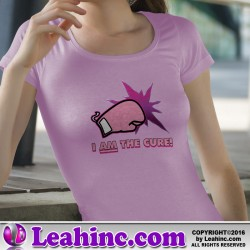 """""""I AM the Cure!"""" Breast Cancer Shirt"""