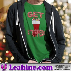 """Get Stuffed"" Christmas Shirt"