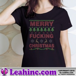 Merry Christmas Cross Stitch Christmas Shirt