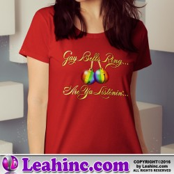 """Gay Bells Ring..."" Christmas Shirt"