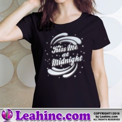 Kiss Me At Midnight New Year's Eve T-Shirt