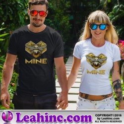 """Bee Mine"" Valentine's Day T-Shirt"