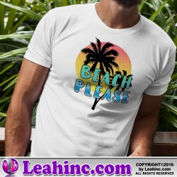 """Beach, Please"" Summer T-Shirt"