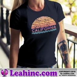 California Sunset Summer T-Shirt