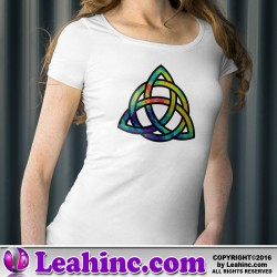 Infrared Trinity Knot T-Shirt
