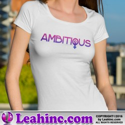 """Ambitious"" Girl Power Fist T-Shirt"
